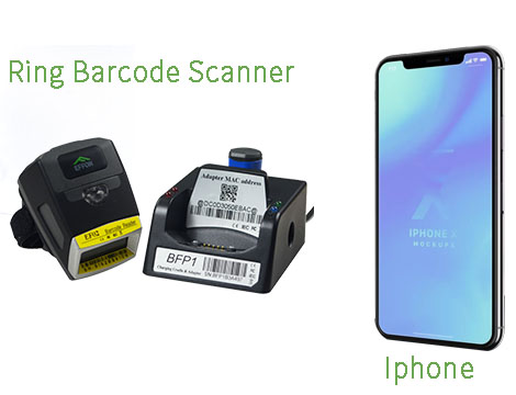 How To Connect 2D BT barcode scanner With Iphone ?