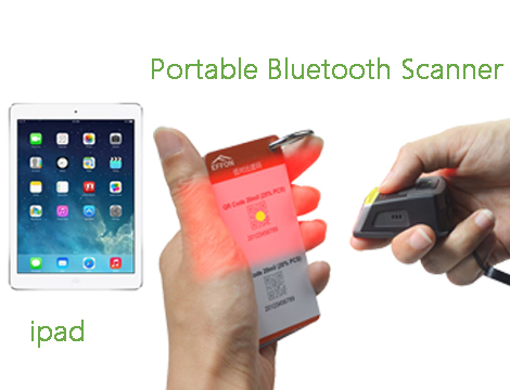How To Connect 2D BT Barcode Scanner With Ipad ?